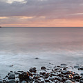 Talisker Point At Sunset by Maria Gaellman