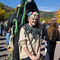 Tall Ghouls At Emma Crawford Coffin Races In Manitou Springs Colorado by Steve Krull
