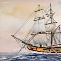 Tall Masted Ship by Lynne Parker