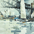 Tall Sails In Sydney by Tony Belobrajdic