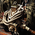 Tall Ship Details by Dale Kincaid