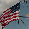 Tall Ship Flag I by Dale Powell