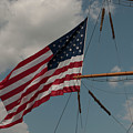 Tall Ship Flag IIi by Dale Powell