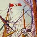 Tall Ship Lines by Cynthia Pride