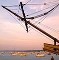 Tall Ship Mayflower II In Plymouth Massachusetts by Matt Suess