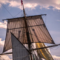 Tall Ship Sails 6 by Kathryn Strick