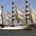 Tall Ship by Robert  Torkomian