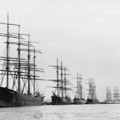 Tall Ships At Rest by John Feiser