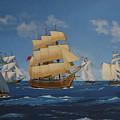 Tall Ships Duluth I by Werner Pipkorn