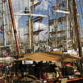 Tall Ships Heritage Landing by Frederic A Reinecke