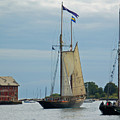 Tall Ships Sailing II by Suzanne Gaff