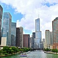 Tall Towers In Chicago by Frozen in Time Fine Art Photography