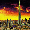 Tallest Building In The World by Don Barrett