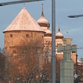 Tallin Towers At Sunrise by Margaret Brooks
