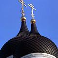 Tallinn Estonia Alexander Nevski Cathedral. by Richard Wareham