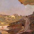 Tamarama Beach Forty Years Ago A Summer Morning  by Julian Ashton