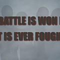 Tampa Bay Buccaneers Battle by Joe Hamilton