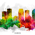 Tampa Florida Cityscape 12 by Aged Pixel