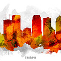 Tampa Florida Cityscape 15 by Aged Pixel