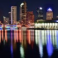 Tampa In Vivid Radiant Color by Frozen in Time Fine Art Photography