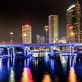 Tampa Skyline by Abraham Schoenig