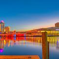 Tampa Sunrise by Lance Raab