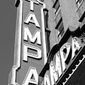 Tampa Theatre Bw by David Lee Thompson