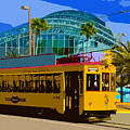 Tampa Trolley by David Lee Thompson