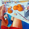 Tangerine Break by Gary Coleman