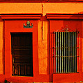 Tangerine Casa By Michael Fitzpatrick by Mexicolors Art Photography
