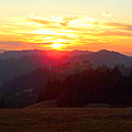 Tangerine Sunset by JoAnn SkyWatcher