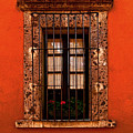 Tangerine Window by Mexicolors Art Photography