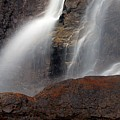 Tangle Falls Closeup 9 by Larry Ricker