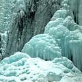 Tangle Falls Frozen Blue Cascades by Adam Jewell