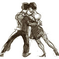 Tango Triangle by Judith Kunzle