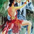 Tango In The Night by Faruk Koksal