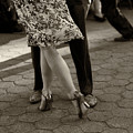 Tango In The Park by Leslie Leda