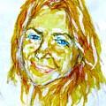 Tania Helft, Portrait by Sviatoslav Alexakhin