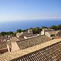 Taormina Rooftops by Madeline Ellis