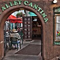 Taos Alley Cantina by Stephen Schwiesow