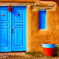 Taos Doorway by Jerry Fornarotto
