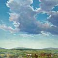 Taos Mustangs by Ken Pieper