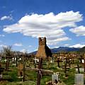 Taos Pueblo Cemetery by Kurt Van Wagner