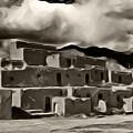 Taos Pueblo by Lou  Novick