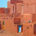 Taos Pueblo V by John Terry
