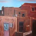 Taos Pueblo Viii by John Terry