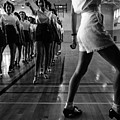 Tap Dancing Class In The Gymnasium by Everett