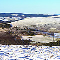 Tap O'noth Panorama by Beate Allerton