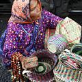 Tarahumara Basket Vendor by Kurt Van Wagner