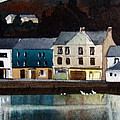 Tarbert Reflections by Paul Dene Marlor